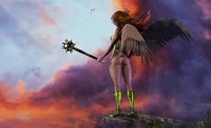 Hawkgirl by ruan-a