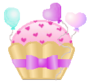 Sweetheart Cupcake by Candycorn4me