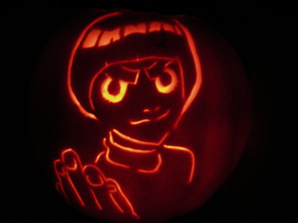 Rock Lee Lit Up by Leon-Kastello