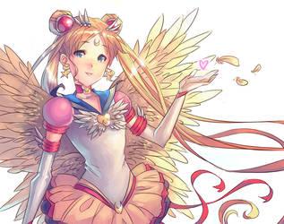 Eternal Sailor Moon by okateo