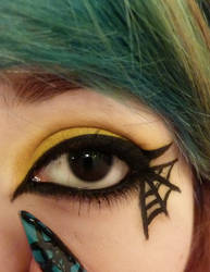 Halloween Spider Eye