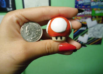 Mario Mushroom by SkittleDizzel