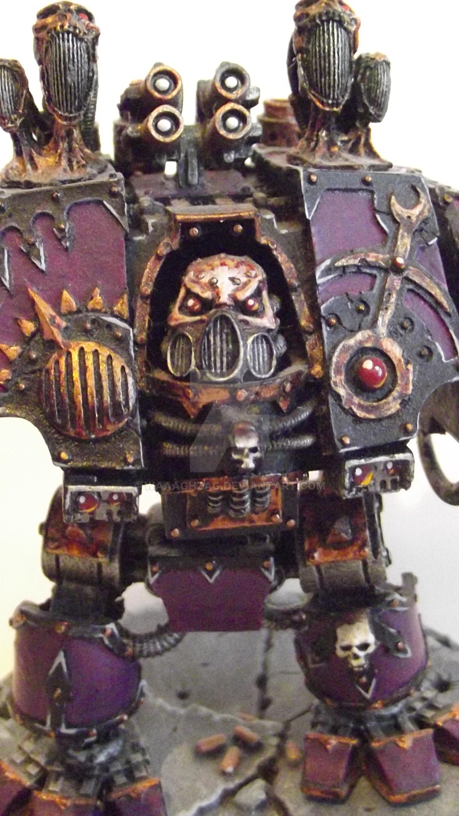 Emperor's Children Noise Marine Dreadnaught by Waaaghzag ...