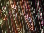 Scribbles in lights