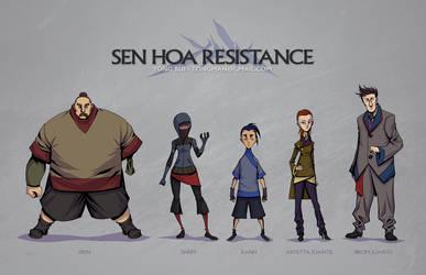 Sen Hoa Resistance by Tongman