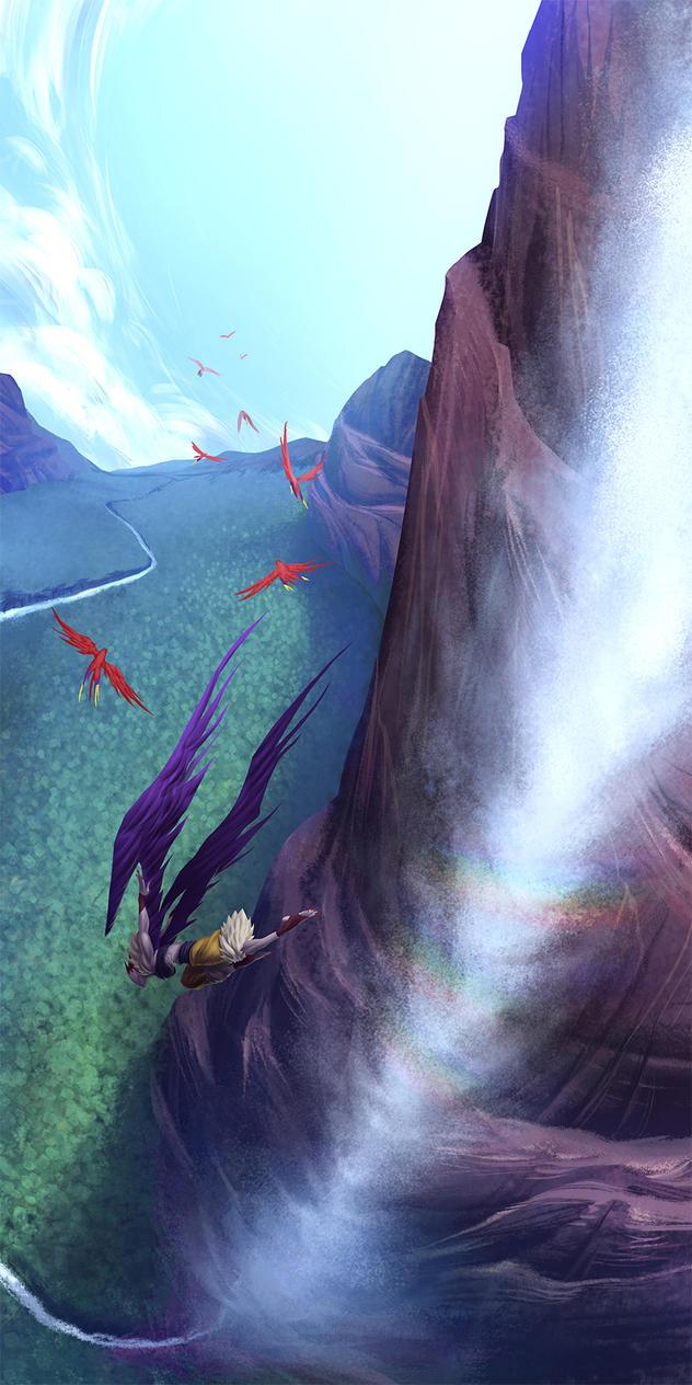 Fauna Freefall by Tongman