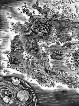 The other half of Inktober's Artbook Map