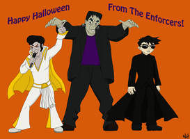 The Enforcers Halloween 2011 by TheLastUnicorn1985
