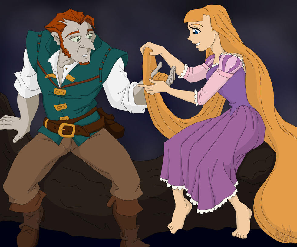 Flynn Rider And Rapunzel Fan Art FinnxKate as Flynn Rid...