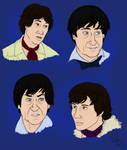 DW: Two and Jamie sketches
