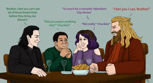 ValentinesDay2020 With Thor and Loki
