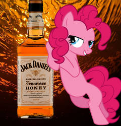 Pinkie Pie with Jack Daniels