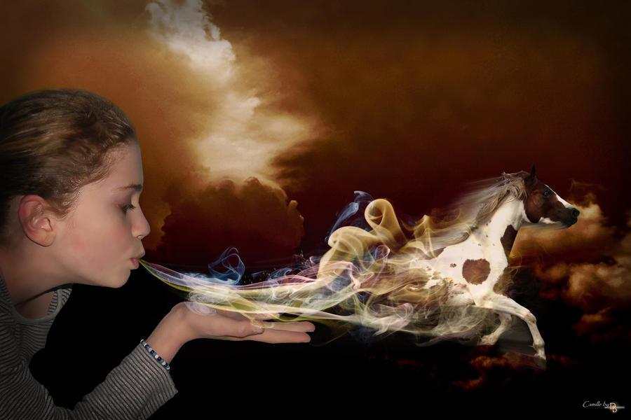 Breath horse creation by Didier-Bernard