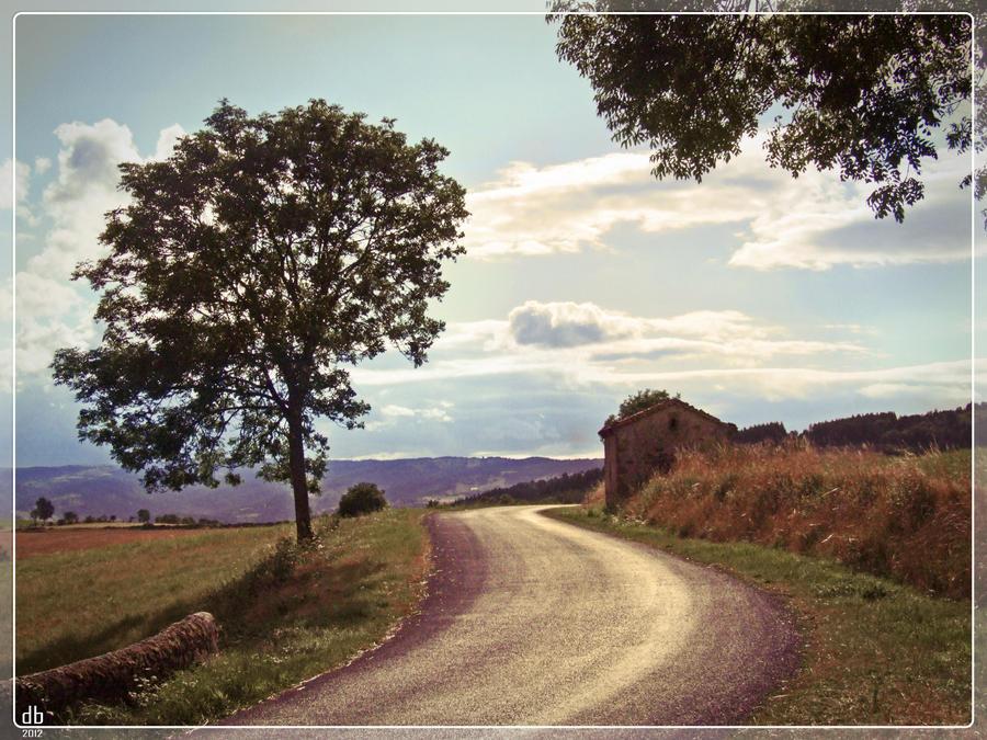 route d'Auvergne by Didier-Bernard