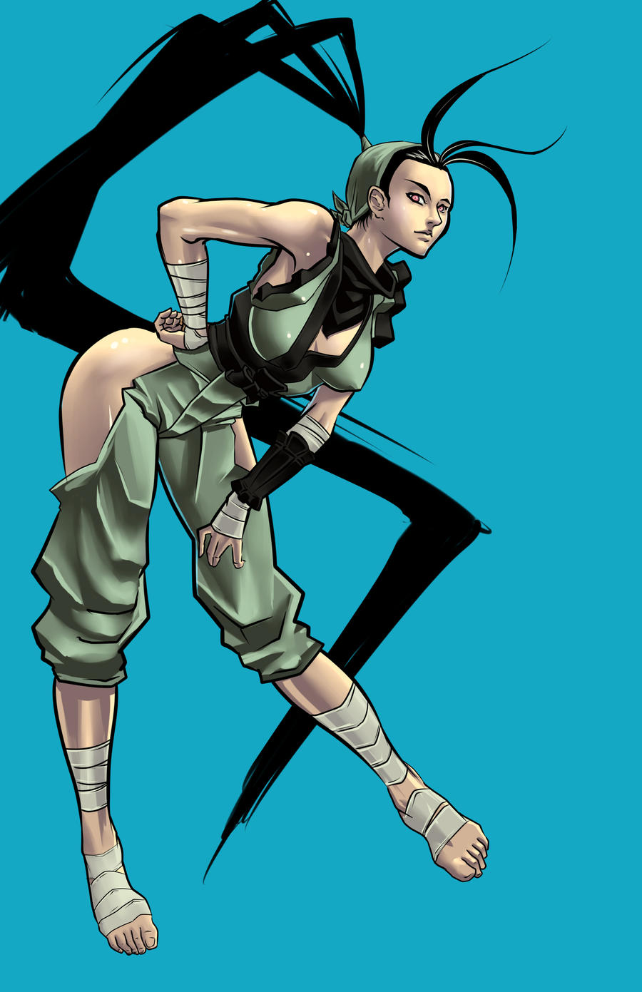 Ibuki Street Fighter Art Jam by JohanneLight