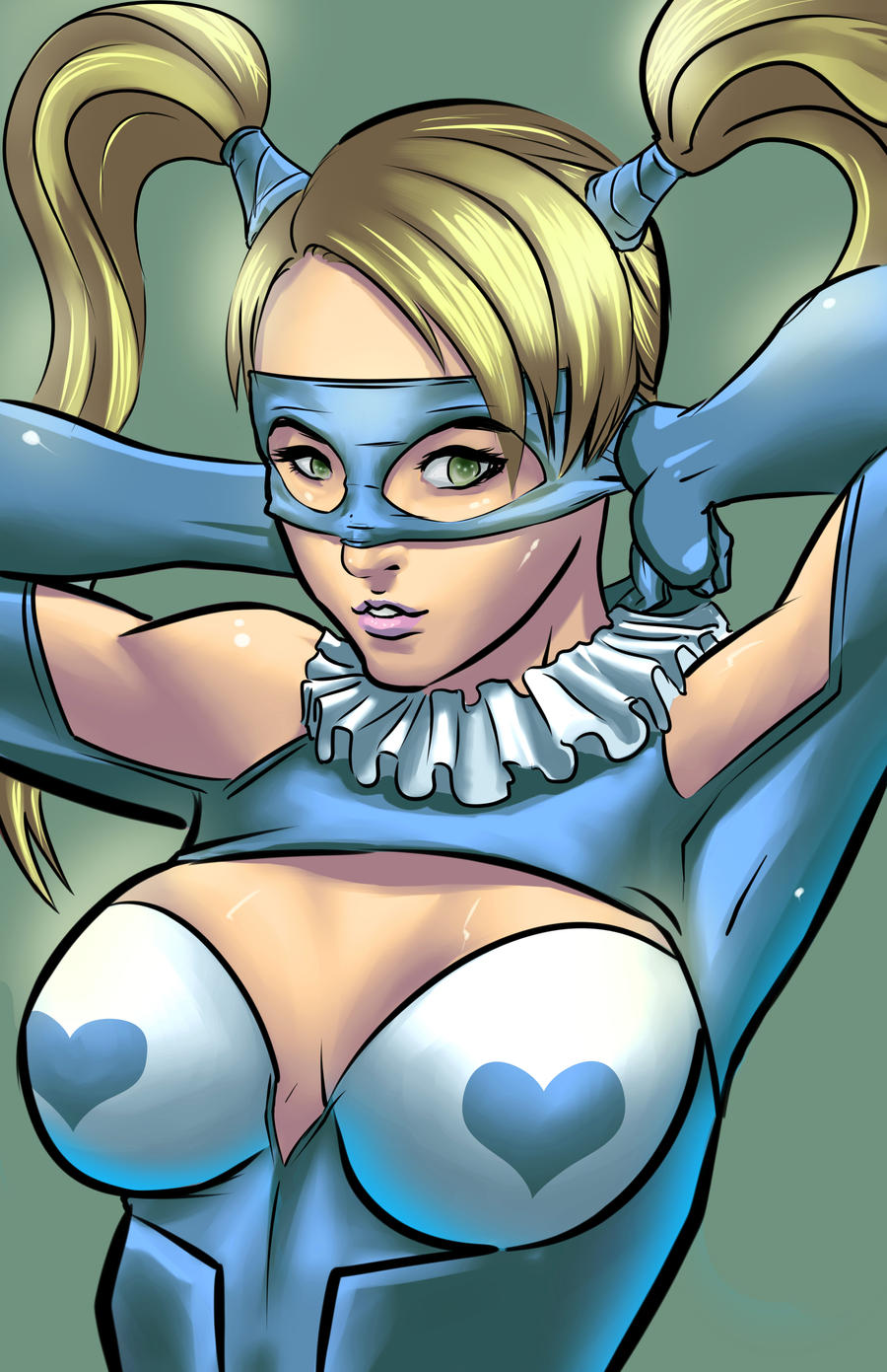 R. Mika Street Fighter Art Jam by JohanneLight