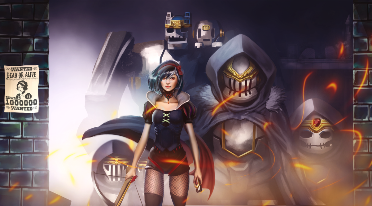 Snow White and the Seven Mechs by JohanneLight