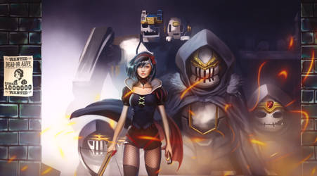 Snow White and the Seven Mechs