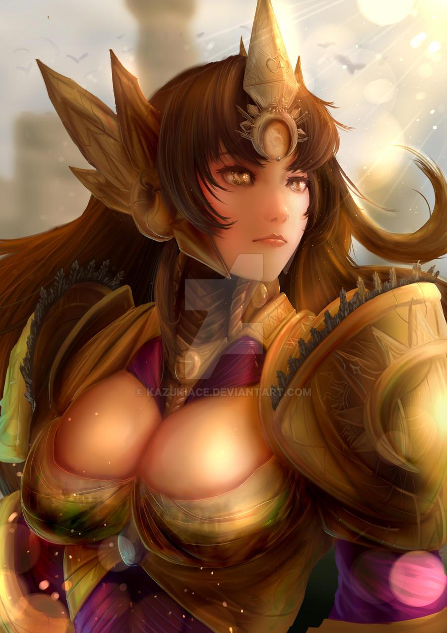 Leona: Sunshine by KazukiAce