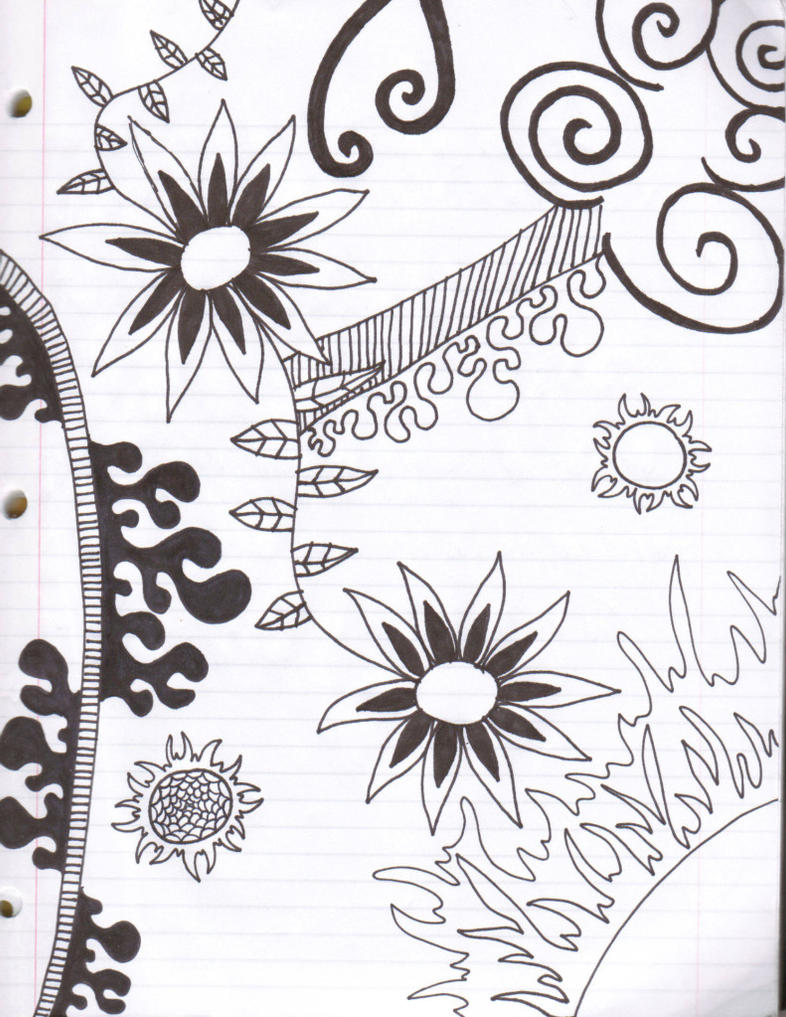 Notebook Doodle by SharpieObsessed