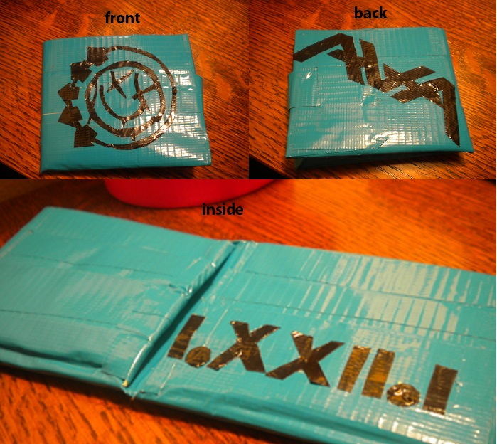 Duct Tape Wallet by SharpieObsessed