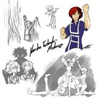 Bnha Nextgen: Nensho Todoroki-Midoriya by CartoonFreakshow