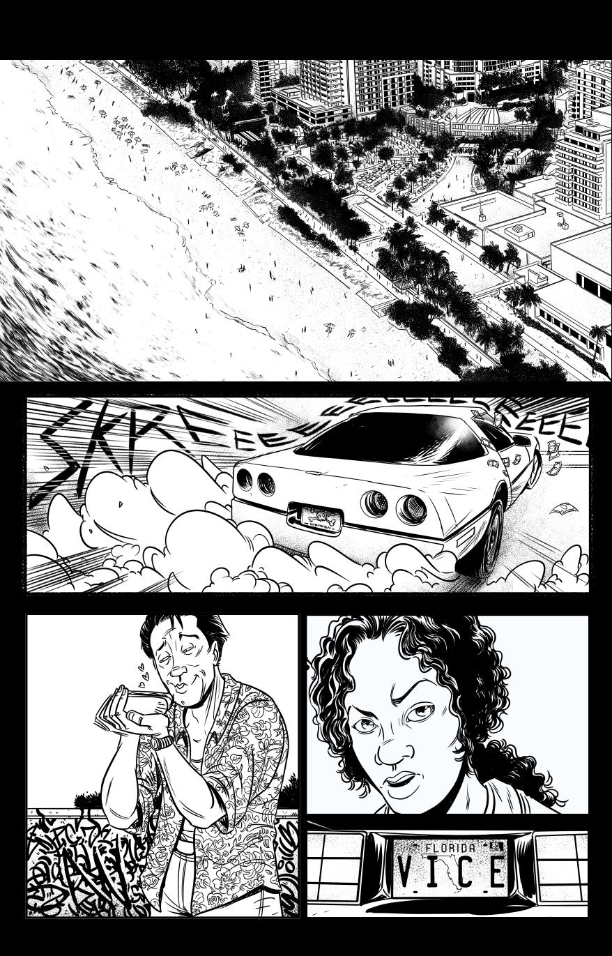 Secret Project Page1