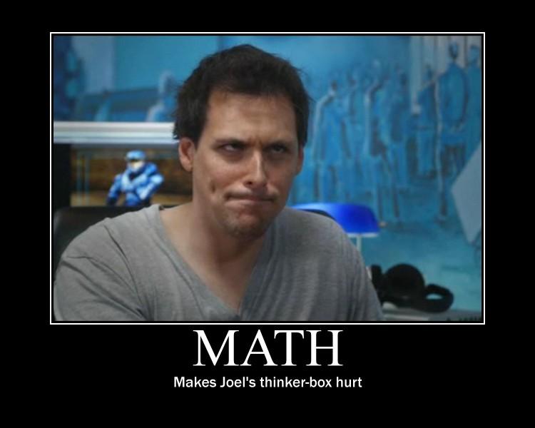 Motivational Poster: Math by Beans-OCG