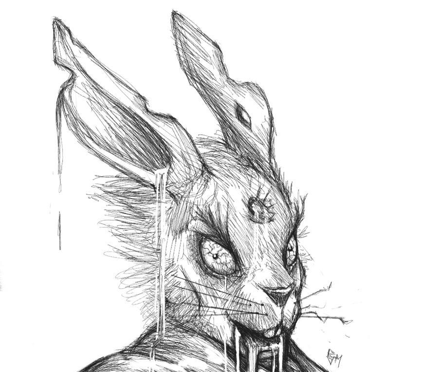 Zombie rabbit.. concep...