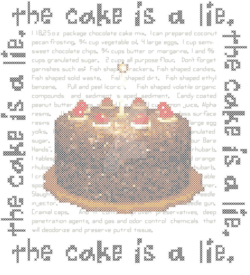 Portal Cake Recipe by rhaben