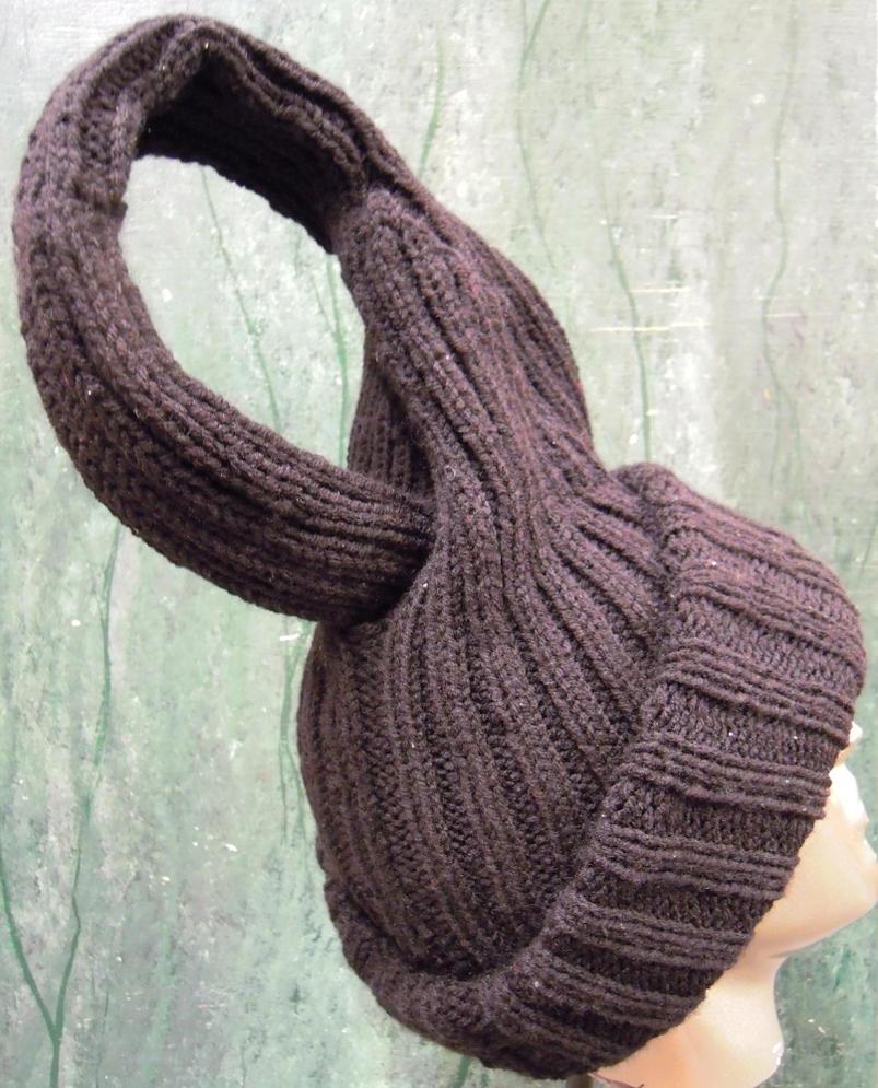 Klein Bottle Knit Hat By Rhaben On Deviantart