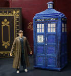 TARDIS in 3D Cross Stitch Plush Pattern