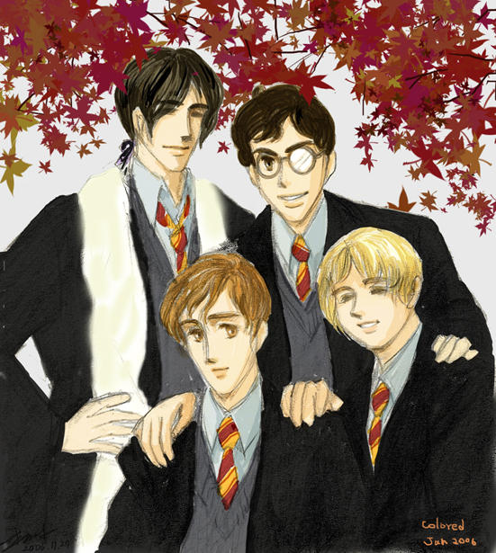 the Marauders-colored by metamorphism