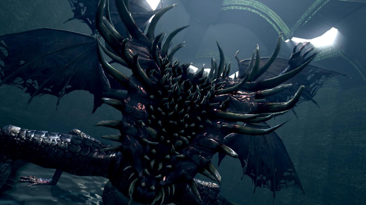 gaping dragon by limitus on deviantart