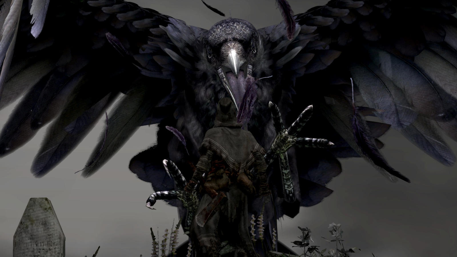 Dark Souls the crow by Limitus on DeviantArt