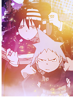 Black Star and Kid avatar by Shika-DA