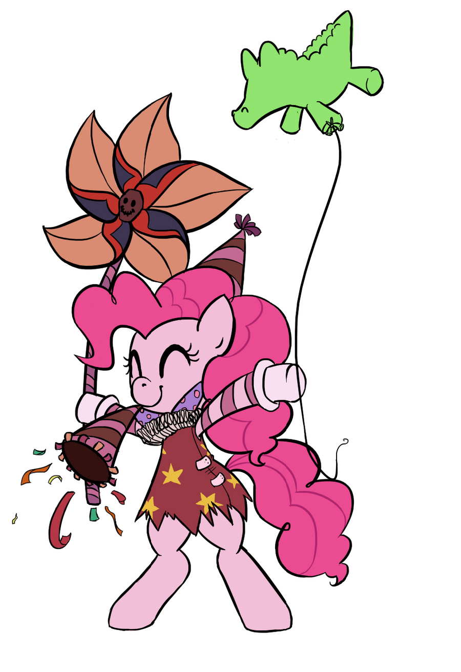 Surprise Party Pinkie Pie by TheSassyJessy