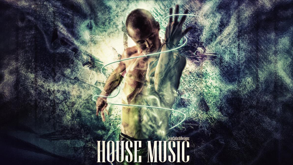 House music wallpaper by jeansplashdesigns on deviantart for House music art