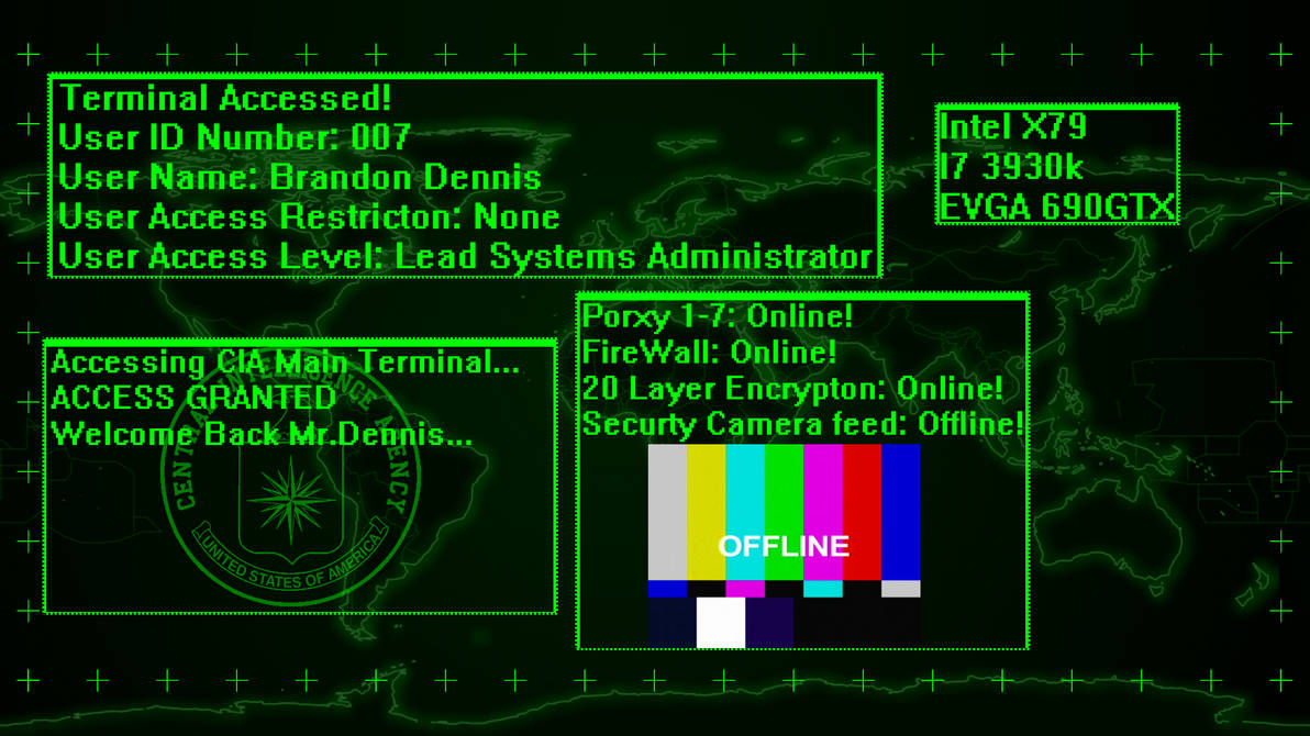 Hacker Wallpaper by Varcom8492 ...