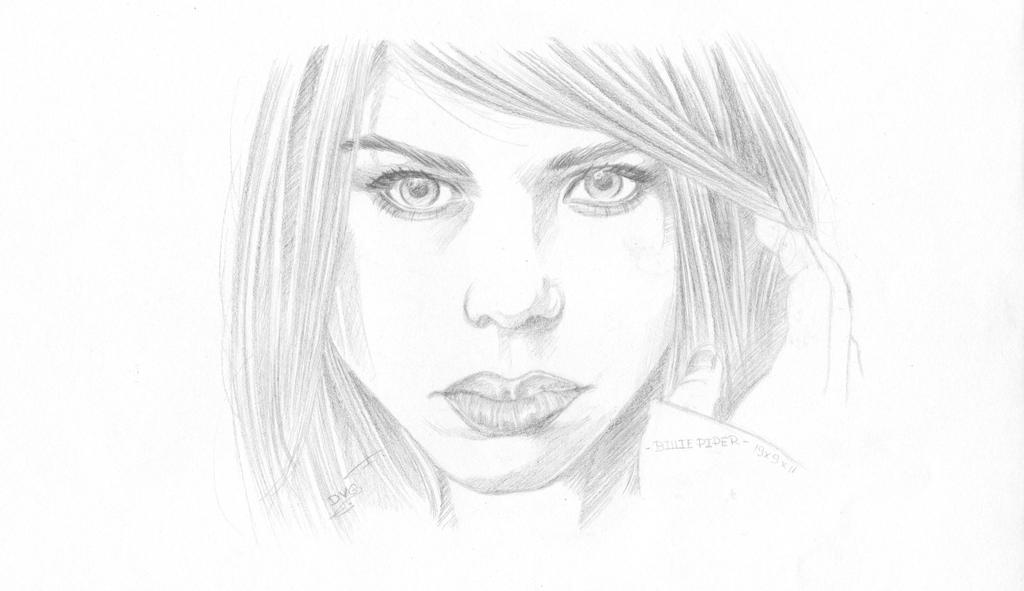 Billie Piper as Rose Tyler wallpaper type by dharma-dvg
