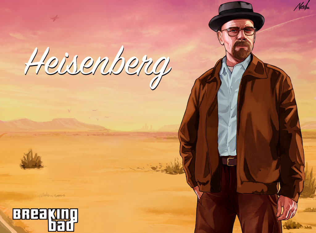 - Heisenberg by MarcelaFreire
