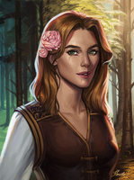 Commission: Selena Rosewood by MarcelaFreire