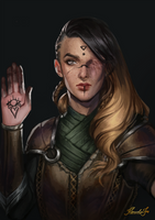 Commission: Arsinoe by MarcelaFreire
