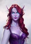 C:  Aelythea Flareheart by MarcelaFreire