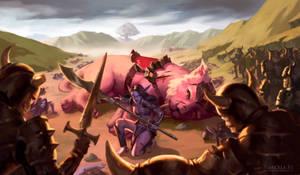 Commission: Battle of Mount Hyjal