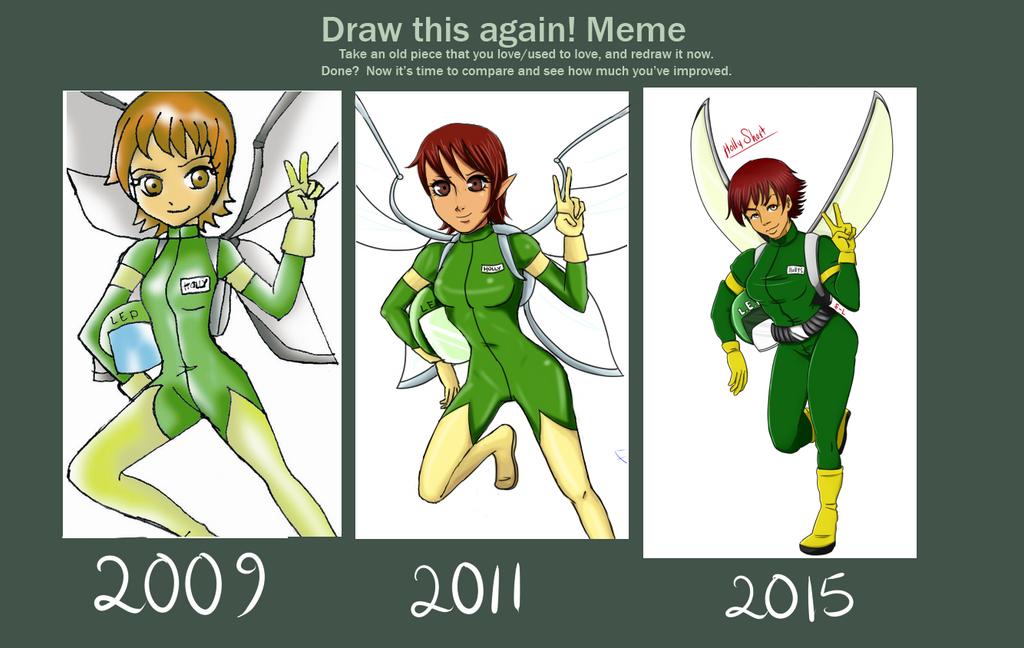 Draw this again meme 2015 by Eureka-Lawliet