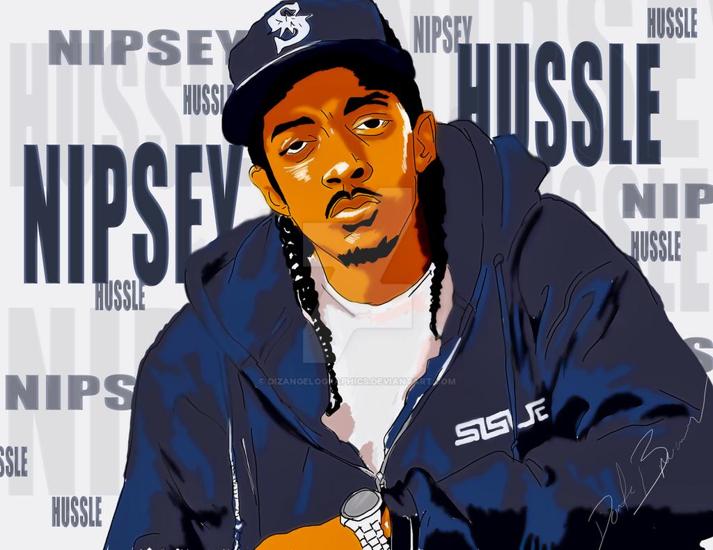 Nipsey Hussle Art By DizangeloGraphics On DeviantArt