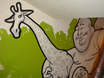 Giraffe wall detail 2 by SquidDelay