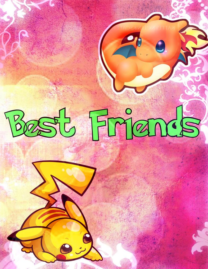 Pikachu And Charizard Best Friends Best Friends Pikachu and