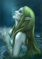 Princess Zelda // Zelda Breath of the Wild by Pomelyne